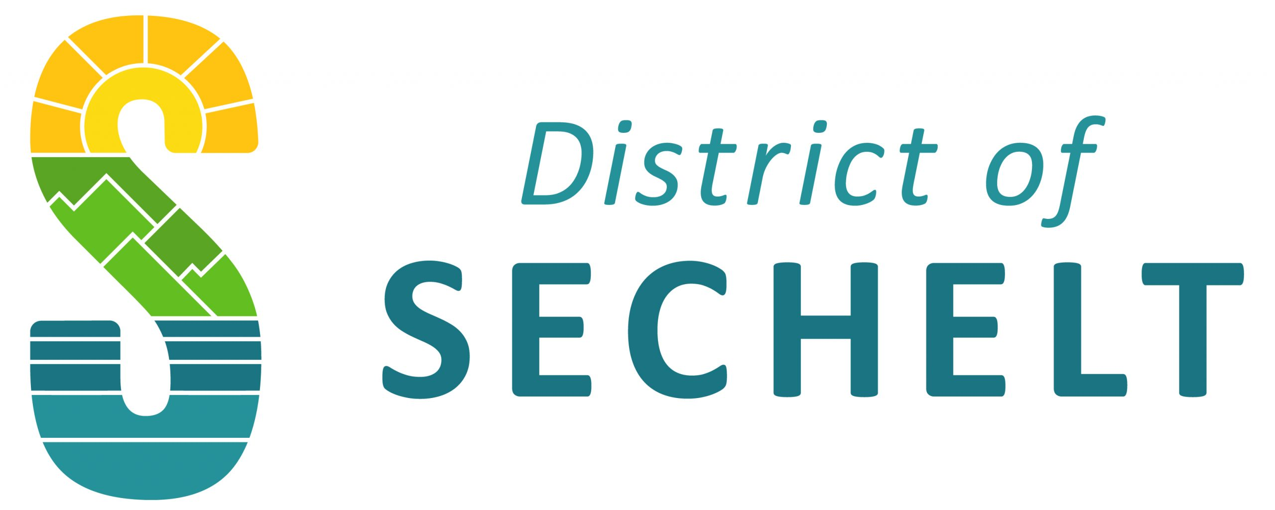 Sechelt Horizontal logo-Colour-PRINT