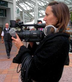Freelance videographer Digital Debbi © Junco Jan